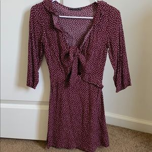 Abercrombie polka dot dress